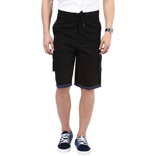 Hypernation Solid Mens Black Short