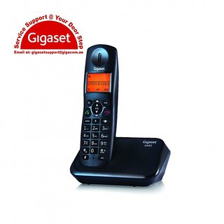 Gigaset A450 Cordless Landline Phone (Black)