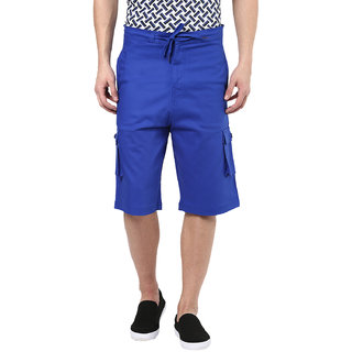 Hypernation Solid Mens Royal Blue Short