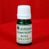 Nirvana Aromatherapy Rose Geranium Essential Oil 10 Ml