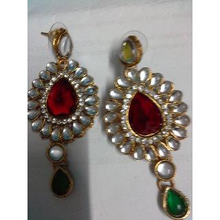 Fahion And Style Kundan Earing