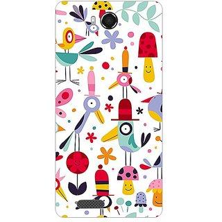 Garmor Designer Plastic Back Cover For Intex Aqua Star Hd