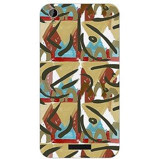 Garmor Designer Plastic Back Cover For Lava Iris X1 Mini