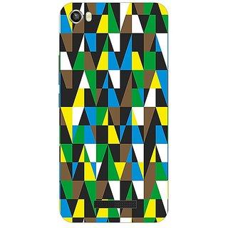 Garmor Designer Plastic Back Cover For Lava Iris X8