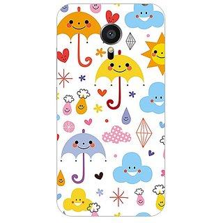 Garmor Designer Plastic Back Cover For Meizu Mx5