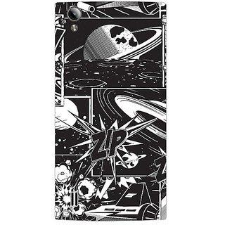 Garmor Designer Plastic Back Cover For Vivo Y15