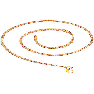 Stylish gold toned long chain
