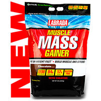 LABRADA MUSCLE MASS GAINER 10LBS With Free Shaker