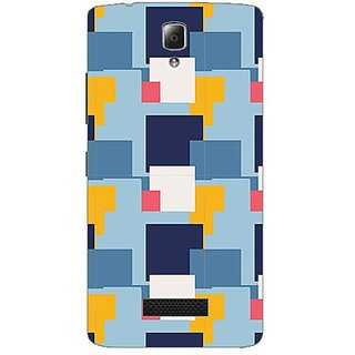 Garmordesigner Plastic Back Cover For Lenovo A2010