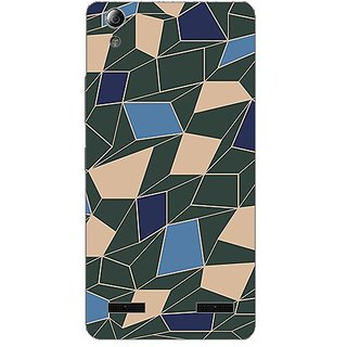 Garmordesigner Plastic Back Cover For Lenovo A6000 Plus