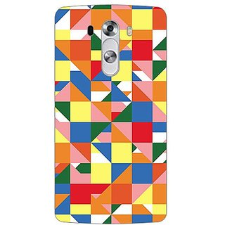 Garmordesigner Plastic Back Cover For Lg G3 Stylus