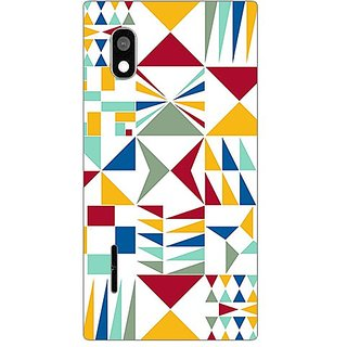 Garmordesigner Plastic Back Cover For Lg L90 D405