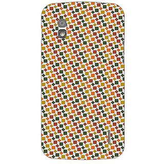 Garmordesigner Plastic Back Cover For Lg Nexus 4 E960