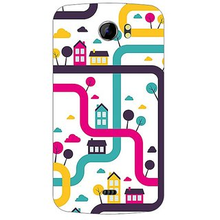 Garmordesigner Plastic Back Cover For Micromax A110 Canvas 2