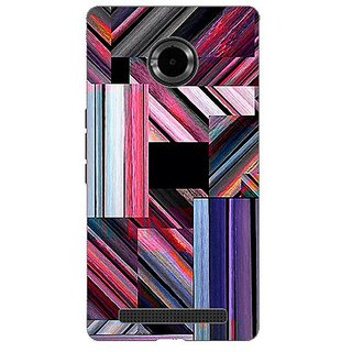 Garmordesigner Plastic Back Cover For Micromax Yu Yuphoria Yu5010