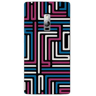 Garmor Designer Plastic Back Cover For Oneplus 2