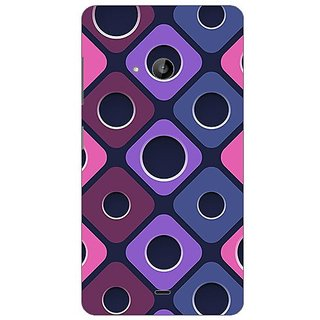 Garmor Designer Plastic Back Cover For Nokia Lumia 535