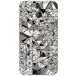 Garmor Designer Plastic Back Cover For Nokia Lumia 640 Xl