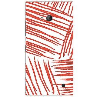 Garmor Designer Plastic Back Cover For Nokia Lumia 730