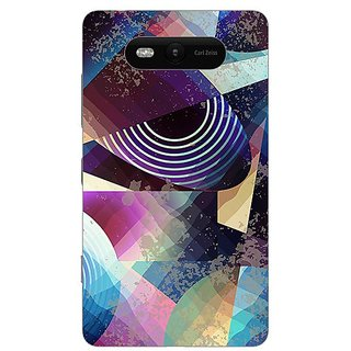 Garmor Designer Plastic Back Cover For Nokia Lumia 820