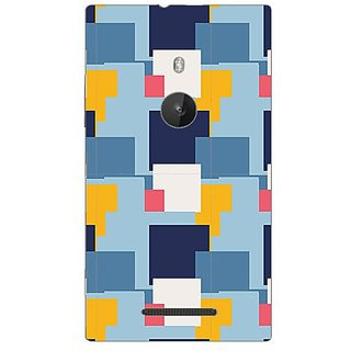 Garmor Designer Plastic Back Cover For Nokia Lumia 925