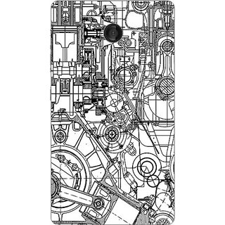 Garmor Designer Plastic Back Cover For Nokia X