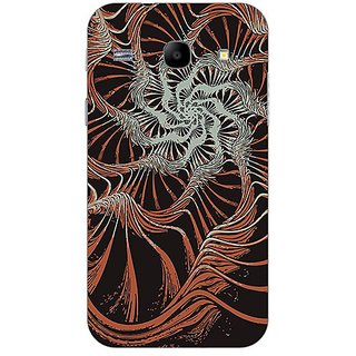 Garmor Designer Plastic Back Cover For Samsung Galaxy Core I8262