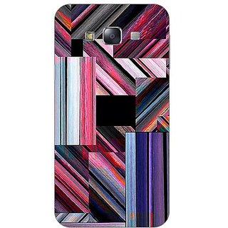 Garmor Designer Plastic Back Cover For Samsung Galaxy E7 Sm-E700