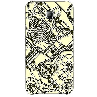 Garmor Designer Plastic Back Cover For Samsung Galaxy J5 Sm-J500F