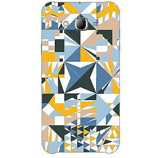 Garmor Designer Plastic Back Cover For Samsung Galaxy J7 Sm-J700F