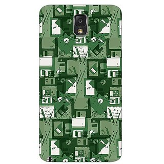 Garmor Designer Plastic Back Cover For Samsung Galaxy Note 3 N9000