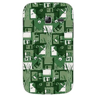 Garmor Designer Plastic Back Cover For Samsung Galaxy Y Duos S6102