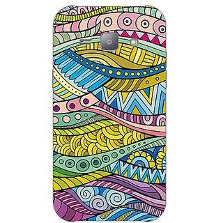 Garmor Designer Plastic Back Cover For Samsung J1 Ace