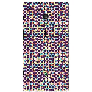 Garmor Designer Plastic Back Cover For Sony Xperia Ion