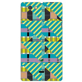 Garmor Designer Plastic Back Cover For Sony Xperia Miro