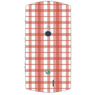 Garmor Designer Plastic Back Cover For Sony Xperia Neo V