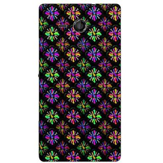 Garmor Designer Plastic Back Cover For Sony Xperia Sp