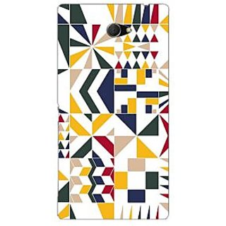 Garmor Designer Plastic Back Cover For Sony Xperia M2