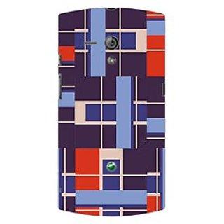 Garmor Designer Plastic Back Cover For Sony Xperia Neo L