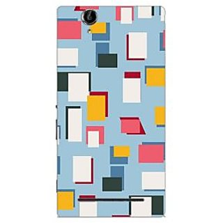 Garmor Designer Plastic Back Cover For Sony Xperia T2