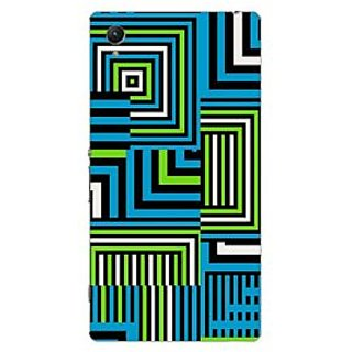 Garmor Designer Plastic Back Cover For Sony Xperia Z1