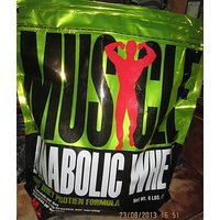 Muscle Master 100% Anabolic Whey Protein Formula 6lbs With Free Shaker