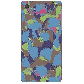 Garmor Designer Plastic Back Cover For Sony Xperia Z2