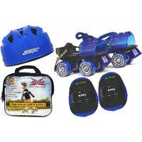 Jaspo Kids Delite Eco junior Skates Combo (skates+helmet+knee+bag)