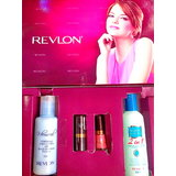 Revlon Kit (Set of Shampoo & Conditioner,Body Lotion,Lip Colour and Nail Enamel)