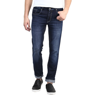 Super-X Blue Slim Fit Jeans For Men-abc129c