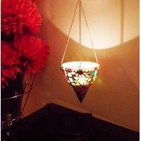 Twilight Spark- Decorative Hanging Tea Light Holder