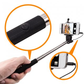 Everything Imported best No.1 universal aux selfie stick