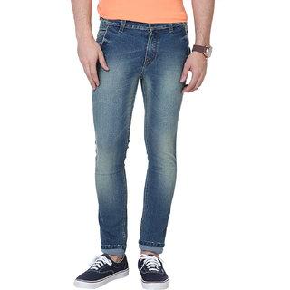 2ca11bd1d1a 61%off Super-X Light Blue Slim Fit Jeans For Men-abc18c