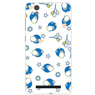 Garmor Designer Plastic Back Cover For Gionee F103